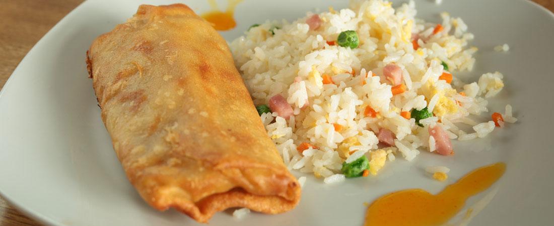 Rice Egg Roll